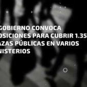 Frame 5.707743 de: El Gobierno convoca oposiciones para cubrir 1.350 plazas en varios ministerios