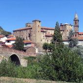 El pueblo de Bormida en Italia