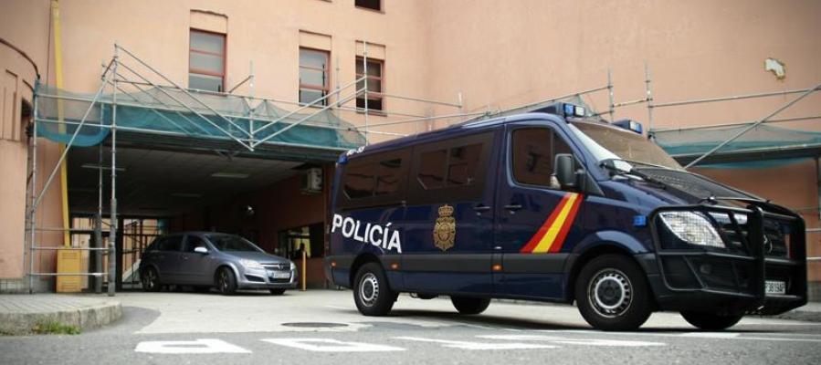 Vista de la comisaría de la Policía Nacional.