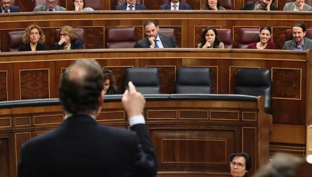 Mariano Rajoy responde a Pablo Iglesias en el Congreso de los Diputados