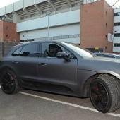 Apedrean el coche de Coutinho en las inmediaciones de Anfield
