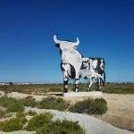 Vecinos que frecuentan la zona aseguran que el aspecto de la silueta del toro el pasado miércoles era la habitual.