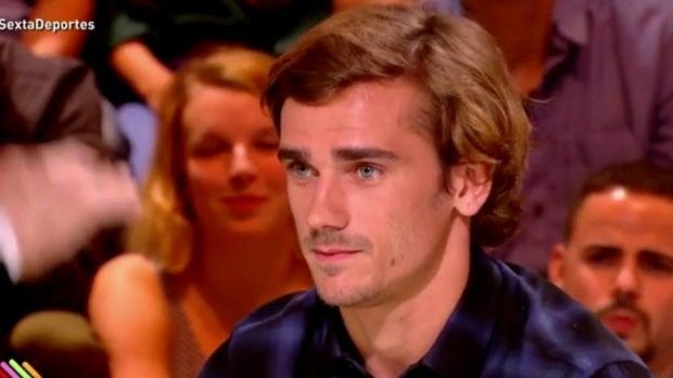 Antoine Griezmann, en una entrevista en Francia