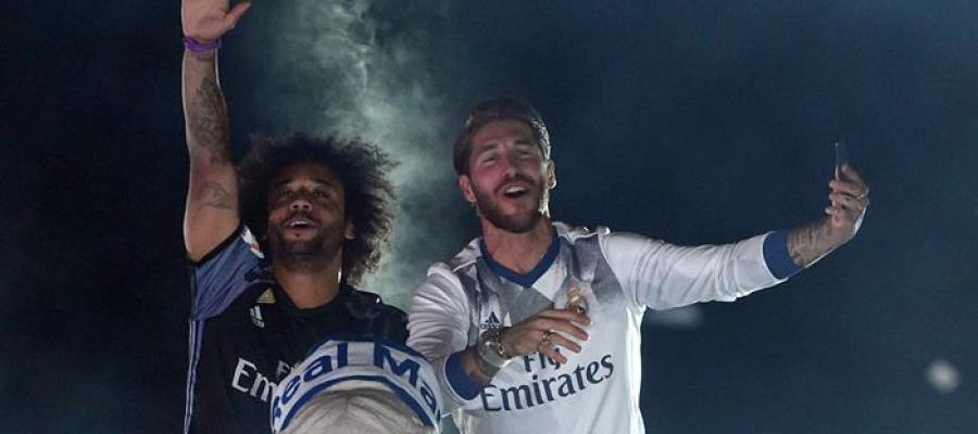 Marcelo y Ramos, desatados en Cibeles