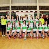 Equipo cadete femenino del Club Balonmano Elche 2016/17.
