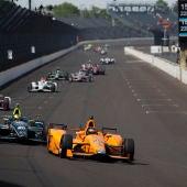 Fernando Alonso, en las 500 Millas de Indianápolis