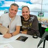 Antonio Pampliega con Juan Ramón Lucas durante una entrevista en Más de uno