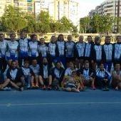 Equipo del Juventud Atlética Elche participante en la Segunda Jornada de División Honor.