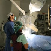 Unidad de Hemodinámica en un hospital.