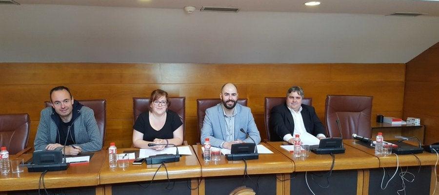 José Ramón Blanco, Verónica Ordóñez, Julio Revuelta y Alberto Bolado