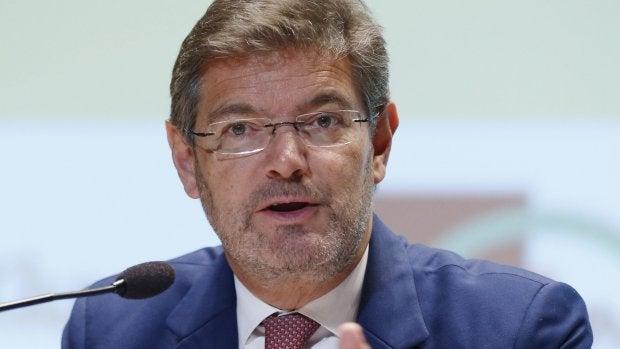 """Rafael Catalá: """"Esta ley quiere reforzar la seguridad de los ciclistas por la vía de un incremento de la sanción"""""""