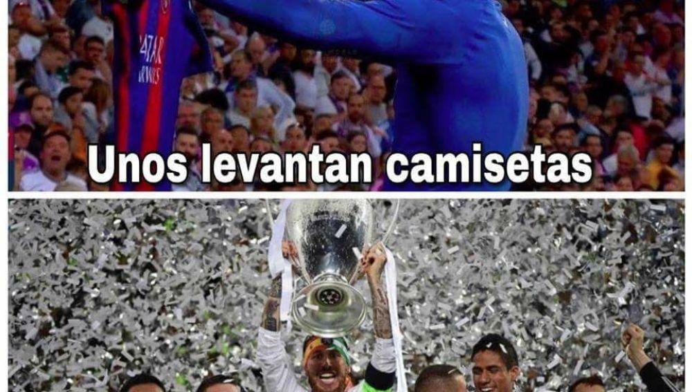 Los divertidos 'memes' de la Juventus - Real Madrid
