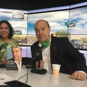Antonio Resines desayuna en Te doy mi palabra con Isabel Gemio