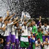 El Real Madrid celebra la Duodécima Champions League en el Millennium Stadium