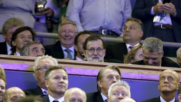 """Mariano Rajoy: """"Hemos sufrido pero al final nos vamos contentos"""""""