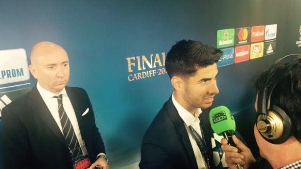 """Marco Asensio: """"Ganar una Champions y marcar en una final es una sensación tremenda"""""""