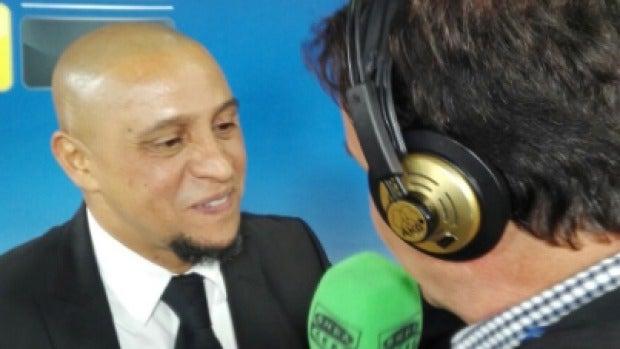 """Roberto Carlos: """"Marcelo no está bien de la cabeza, va preguntando por qué llevan todos su número en la camiseta"""""""