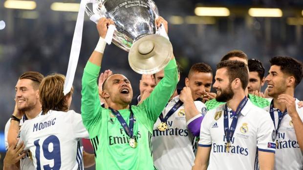 """Keylor Navas: """"Tengo muy claro que quiero estar en el Real Madrid y ganar títulos"""""""