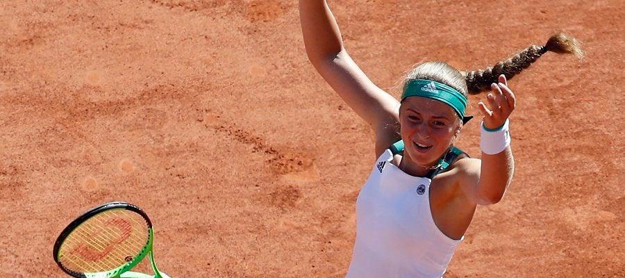 Jelena Ostapenko gana el Roland Garros