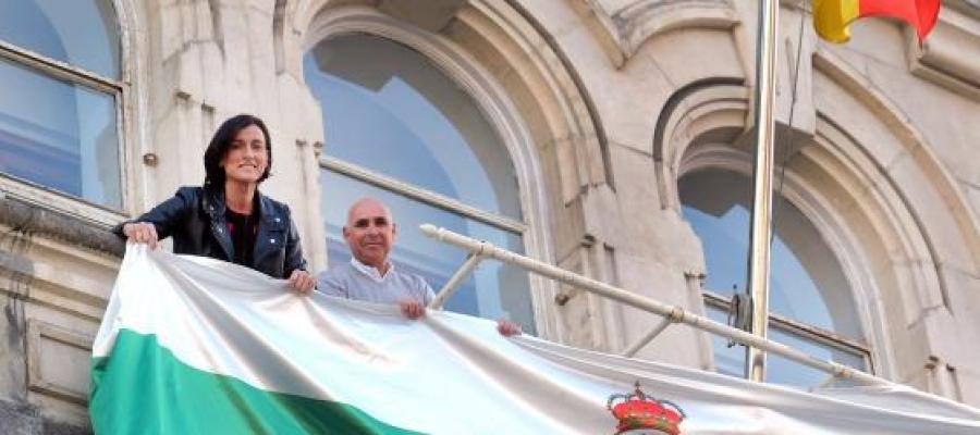 Ayuntamiento, Casino y Palacio de la Magdalena se iluminarán de verde para apoyar al Racing