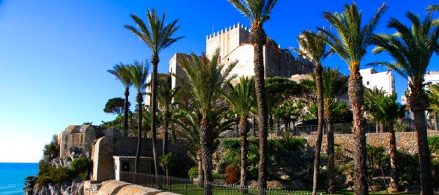 El castillo de Peñíscola.