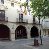 Fachada del Ayuntamiento de Aspe.