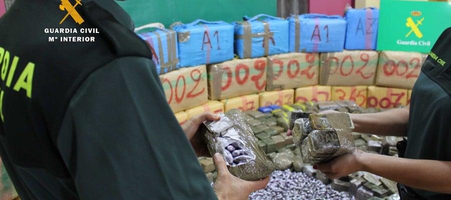 Intervenidas más de 4 toneladas de hachís procedentes de Marruecos