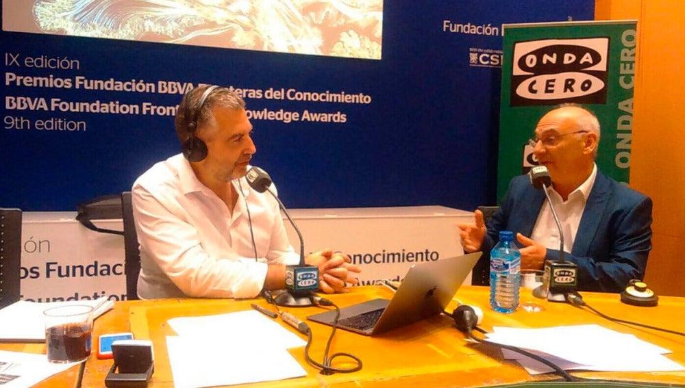 Francis Mojica entrevistado por Carlos Alsina