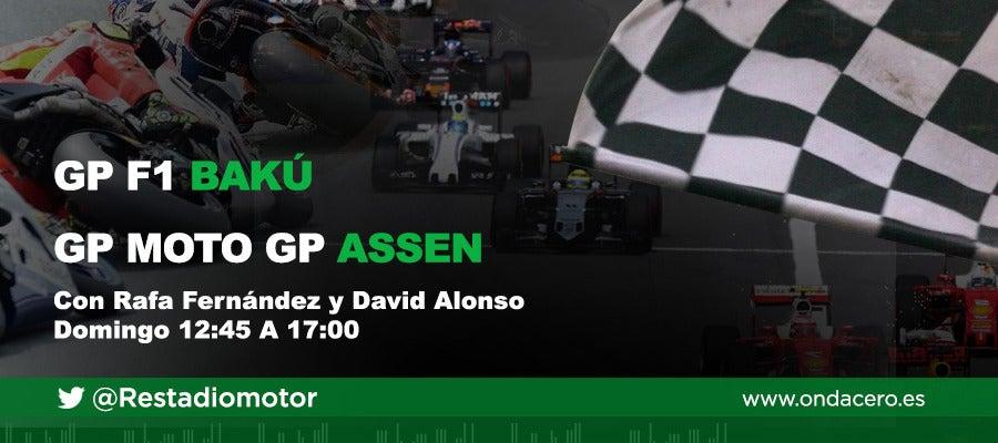 Radioestadio del Motor. GP de Bakú de F1 y GP de Assen de Moto GP