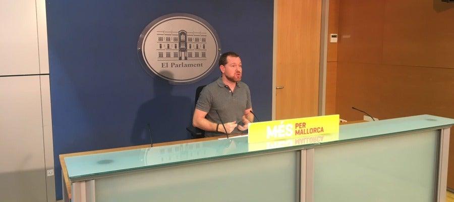 David Abril, diputado de Més per Mallorca