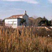 Vista de la Ermita de Santa Quiteria.