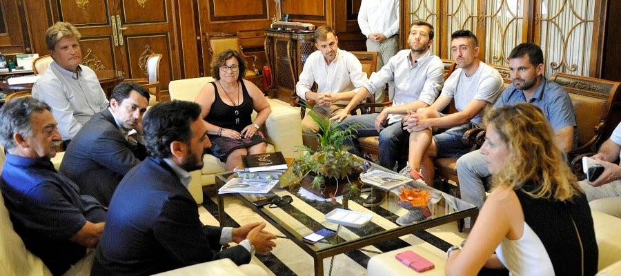 Reunión entre Ayuntamiento y CD Castellón