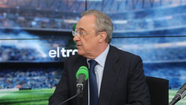 """Mensaje de ánimo de Florentino a las promesas del Real Madrid tras perder la final: """"Seguid así que lo hacéis genial"""""""