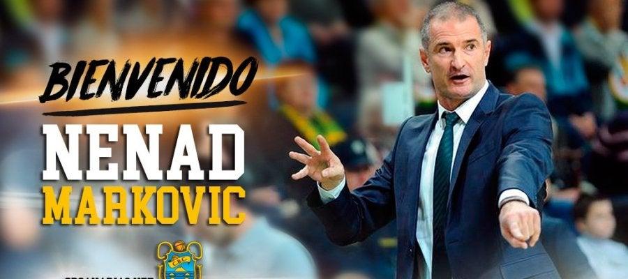 Nenad Markovic, nuevo técnico del Iberostar Tenerife