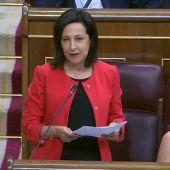 Margarita Robles se estrena como portavoz en el Congreso pidiendo a Rajoy que asuma responsabilidad amnistía fiscal