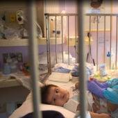 Sebastián, el bebé con inmunodeficiencia