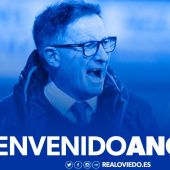 Juan Antonio Anquela ficha por el Oviedo como entrenador.