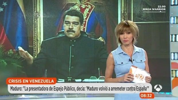 La tele con Monegal: Los tensos mensajes entre Nicolás Maduro y Susanna Griso