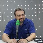 JF León en el estudio de Onda Cero