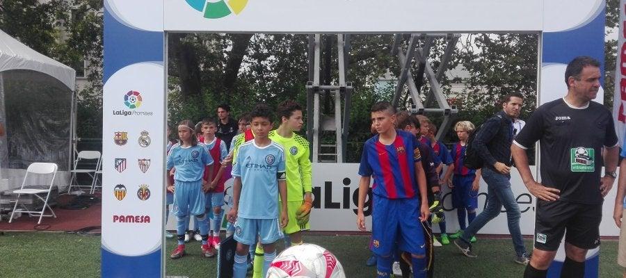 Barcelona y Manchester City saltan al campo de LaLiga Promises
