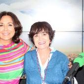 Isabel Gemio junto a Rosa Montero en Onda Cero