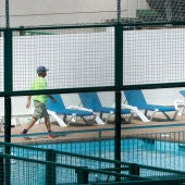 Piscina del Club de Tenis de Vilanova i la Geltrú (Barcelona)