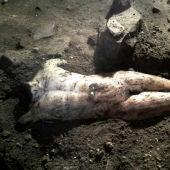 Estatua romana encontrada en unas obras en Toledo