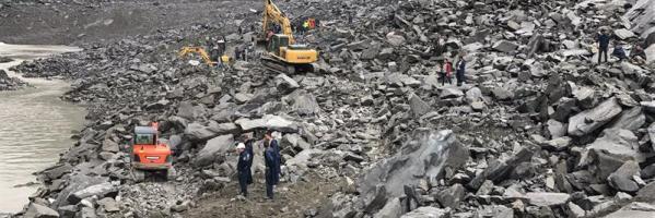 Deslizamiento de tierra en China