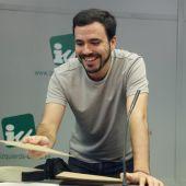 El líder de Izquierda Unida, Alberto Garzón