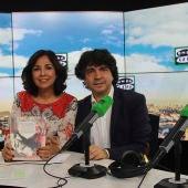 Mario Garcés con Isabel Gemio en su programa