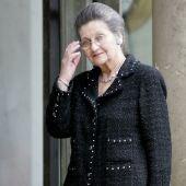 Simone Veil, la primera mujer que fue elegida presidenta del Parlamento Europeo