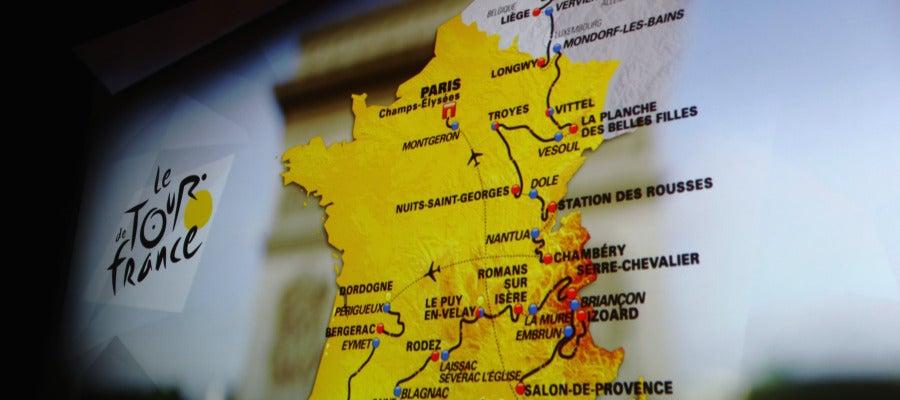 La ruta del Tour 2017