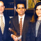 Juan Carlos de Julián con Concha Pita en 1997