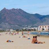 Imagen de la playa del Gurugú en Castellón.